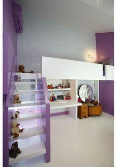 mezzanine bed for each - Placard Sous Mezzanine