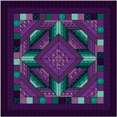 Mosaic quilts love this I wish I could quilt Amische Quilts, Patchwork Quilt, Barn Quilts, Mini Quilts, Quilting Tutorials, Quilting Projects, Quilting Designs, Quilting Ideas, Stained Glass Quilt