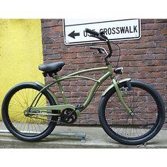 Custom Beach Cruiser, Beach Cruiser Bikes, Cruiser Bicycle, Cool Bicycles, Vintage Bicycles, Cool Bikes, Velo Retro, Retro Bicycle, Bike Wagon