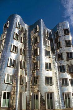Gehry Buildings in Dusseldorf, Germany