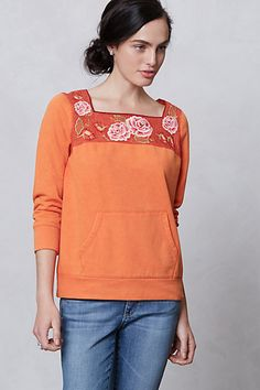 Rosy Sweatshirt - anthropologie