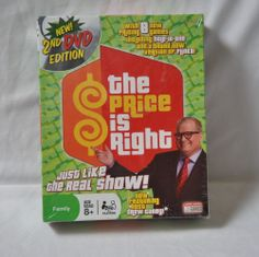 Game The Price is Right Drew Carey 2nd Edition Dvd Age 8+ Sealed #EndlessGames