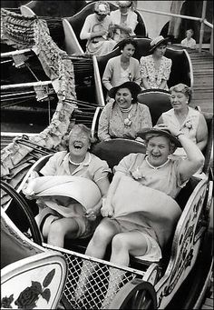 I love this photograph by Grace Robertson. Here's to friends—and ridiculous laughter.  Via: Peter Fetterman