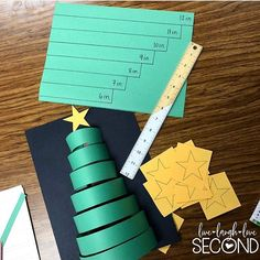 Need a fun and simple math activity this week? Check out these measurement Christmas trees from @livelaughlovesecond! #classroompinspirations