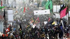 Millions of Muslims marching to Karbala for Arba'een