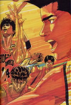Slam Dunk Manga, Inoue Takehiko, Manga Covers, Animes Wallpapers, Slammed, Manga Art, Akira, Cool Drawings, Book Art