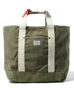 fennicaのPORTER×fennica×B印 YOSHIDA / Rag-Handle TOTEです。こちらの商品はBEAMS Online Shopにて通販購入可能です。