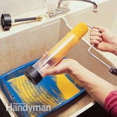 These pro secrets about the best way to use and care for your paintbrushes and paint rollers will make any paint job around the house easier, neater and give you beautiful results.