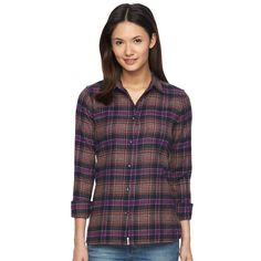 Women's Woolrich Flannel Shirt, Size:
