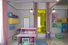 Decoração Quarto Infantil Menina - Escrivaninha  (Arquiteto: Diego Revollo)