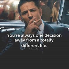 One decision can change it all - Good Vibes. Great Quotes, Quotes To Live By, Life Quotes, Motivational Videos, Inspirational Quotes, Insightful Quotes, Ambition, The Success Club, Leadership