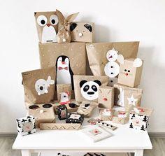 Christmas Pom Pom Crafts, Christmas Gift Box, Christmas Makes, Christmas Gift Wrapping, Christmas Projects, Xmas Gifts, Holiday Crafts, Diy Gifts, Christmas Ornaments