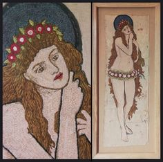 Embroidery by Jane Morris by Kotomi_, via Flickr