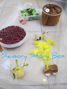 The Golden Gleam: Sensory Story Box - Mole's in Love