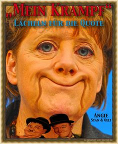 ❌❌❌ Merkel hat das Zeugs dazu, nicht nur zur mächtigsten Frau der Welt zu werden, sie könnte auch die beliebteste werden, alles nur eine Frage der Berechnungsmethode. Passend zum Jahresende überschlagen sich noch alle Medien bei den Lobpreisungen der geliebten Führerin Deutschlands. Deshalb ist es an der Zeit, die neuen Berechnungsmethoden zu den merkel'schen Beliebtheitswerten genauer zu untersuchen. ❌❌❌