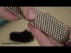 How to make dragonscale chainmail tutorial  no idea what I'd use this for, but its awesome