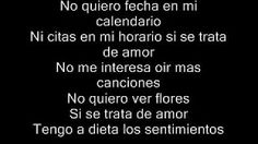 Aventura- Dile Al Amor lyrics - YouTube