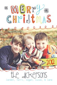 Personalized Photo Christmas Card Printable No by TheMeekBoutique, $15.00