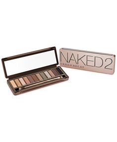 Would love this for Xmas! Urban Decay Naked2 Palette