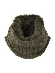 Fur lined cowl