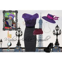 """Madame Adelaide Bonfamille"" by madison-mh on Polyvore"