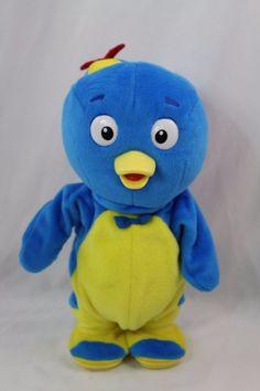 Backyardigans Pablo Dancing Singing Talking Blue Penguin Plush by Fisher Price 2