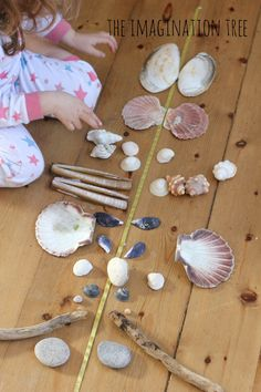 Pattern making with natural materials | The Imagination Tree