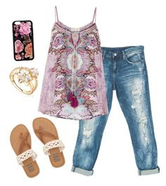 """""""Adorable & Adorable :Casual"""" by tkeka on Polyvore featuring Sans Souci, Monsoon and Billabong"""