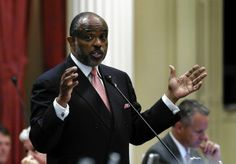 CA State Sen. Roderick Wright is being removed as chairman of powerful Senate Governmental Organization Committee.