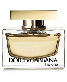 "Dolce and Gabbana ""The one"""