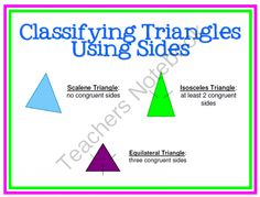 Triangles 7.G.2 and 7.G.5