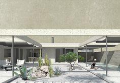 atrium Atrium, Garage Doors, Houses, Outdoor Decor, Home Decor, Homes, Decoration Home, Room Decor, Home Interior Design