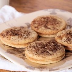 Tiramisu cookies - Cookies with mascarpone-espresso filling.