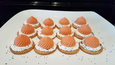 Mini Charlotte, Mini Cupcakes, St Honoré, Appetizers, Desserts, Party, Sweet Recipes, Thermomix, Tailgate Desserts