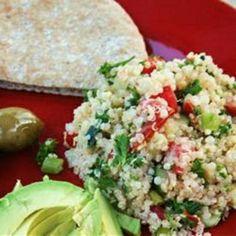 Quinoa Tabbouleh (via @Shastaxpm296 )