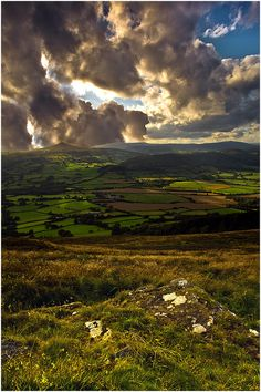 Wales. Oh my goodness; the world is a place rife with glory. We do not look, and that is a great fault.