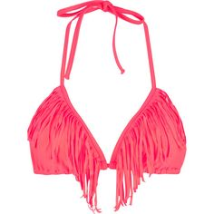 KANDY WRAPPERS Fringed Benefits 'kini Top