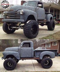 trucks chevy old Diesel Trucks, Gm Trucks, Lifted Trucks, Cool Trucks, Pickup Trucks, Lifted Ford, Dodge Diesel, Dually Trucks, Carros Vw