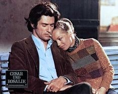 César et Rosalie, de Claude Sautet. Samy Frey et Romy Schneider (1972). A voir…