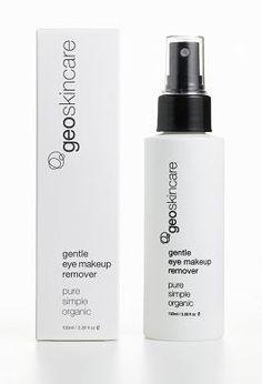 Geoskincare Gentle Eye Makeup Remover - 100ml http://www.naturesbeauties.co.uk/ourshop/prod_2407516-Geoskincare-Gentle-Eye-Makeup-Remover-100ml.html £18.79 inc p!