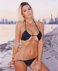 Pictures of attractive females wearing sexy bikinis Mädchen In Bikinis, Bikini Swimwear, String Bikinis, Swimsuits, Sexy Bikini, Bikini Girls, Black Bikini, Best Instagram Models, Beach Girls