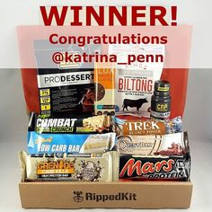 Congratulations to @katrina_penn, the winner of our free September box! For your chance to win a free box next month make sure you've joined the updates list on our site 😉