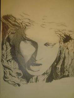 dibujo a lapicero. Realizado por Alicia Ruiz