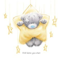 Star Tatty Teddy perfect for saying well done!