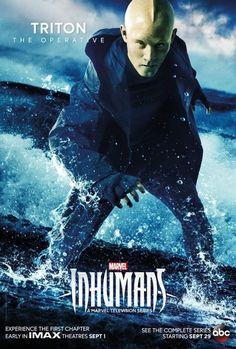 Inhumans Poster Marvel New TV 2017 Hit Black Bolt Medusa FREE P+P CHOOSE UR SIZE
