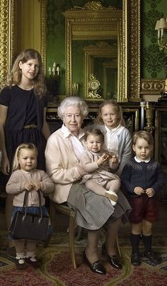 Royal Family Around the World: Remarkable new photographs of Queen Elizabeth II…