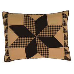 Dakota Star Pillow Shams