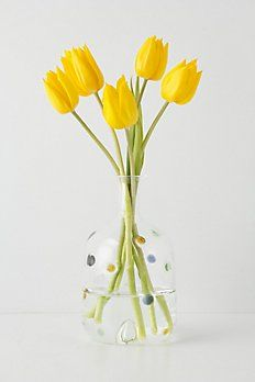 Dots and Smidges vase.
