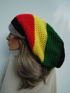 Rasta Hat Crochet Pattern Free - Crochet : Education and ...