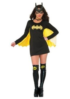 Be heroic in this DC Womenu0027s Batgirl Wing Dress.Features Costume dress for crime fighting ladies!  sc 1 st  Pinterest & Teen Girls Batgirl Costume - Party City | Eye candy | Pinterest ...